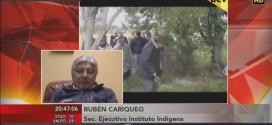 """Entrevista; a Ruben Cariqueo en  UCVTV """"ESTO ES NOTICIA""""."""