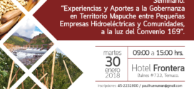 REALIZARÁN SEMINARIO PARA CONOCER EXPERIENCIAS DE COMUNIDADES CON HIDROELÉCTRICAS